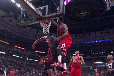 Bulls Charge to Toss Miami's Win Streak