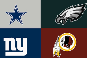 Will there be a shakeup in the NFC Eastern Division this coming season?
