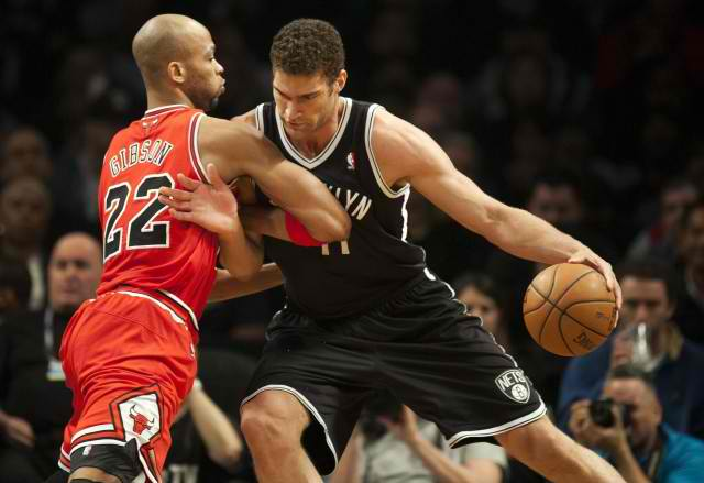 Game 1: Chicago Bulls at Brooklyn Nets
