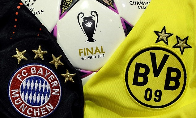 Champions League Final Borussia Dortmund v Bayern Munich