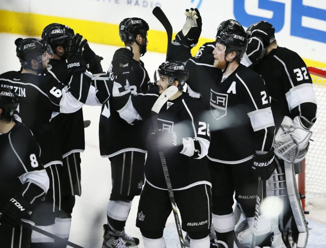 Los Angeles Kings Battling Harder But Back In Conference Finals
