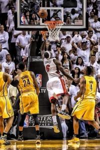 LeBron James Buzzer Beater - Game 1