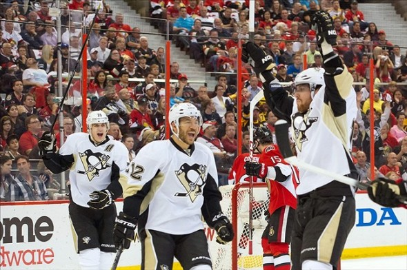 Penguins Ready To Advance; Senators Short On Words