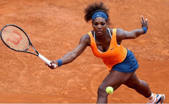 Serena Williams' Train Continues to Choo