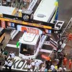 Tour de France Bus Crash