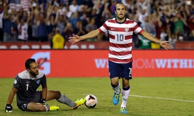 USA 6-0 Guatemala: Match Report
