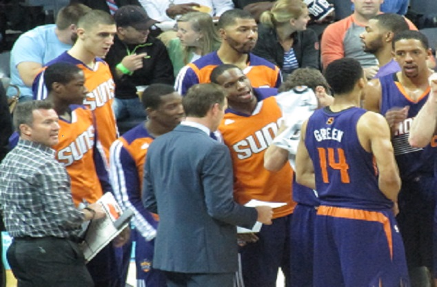 The Phoenix Suns Eliminated from Playoff Contention
