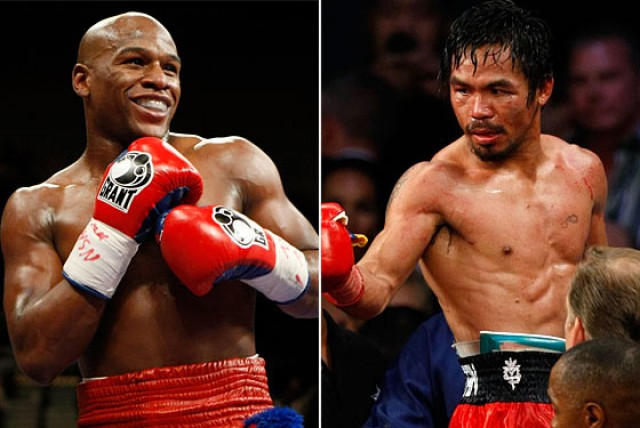 FLOYD MAYWEATHER JR. DUCKED MANNY PACQUIAO